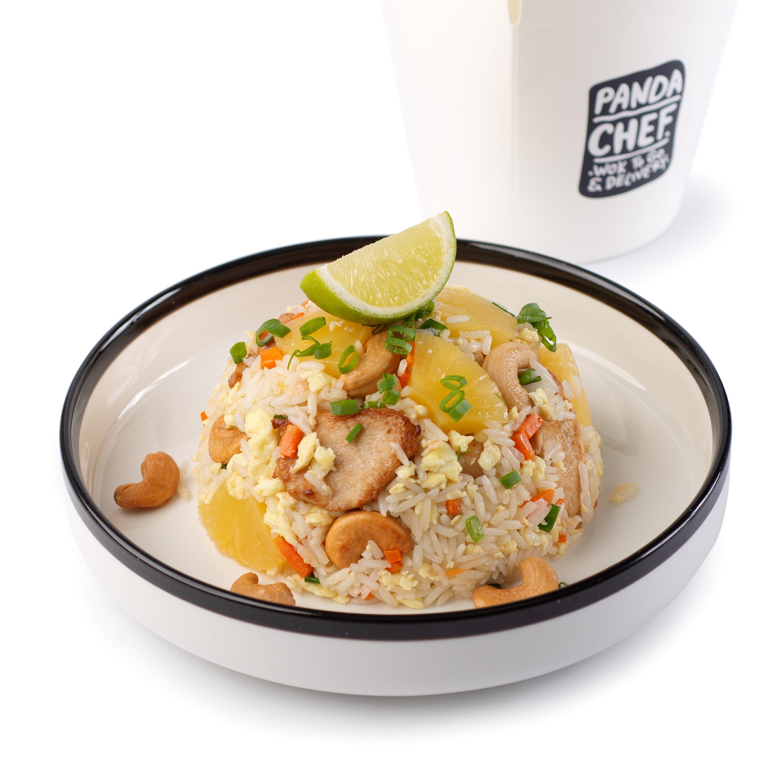 Тайский рис с цыпленком