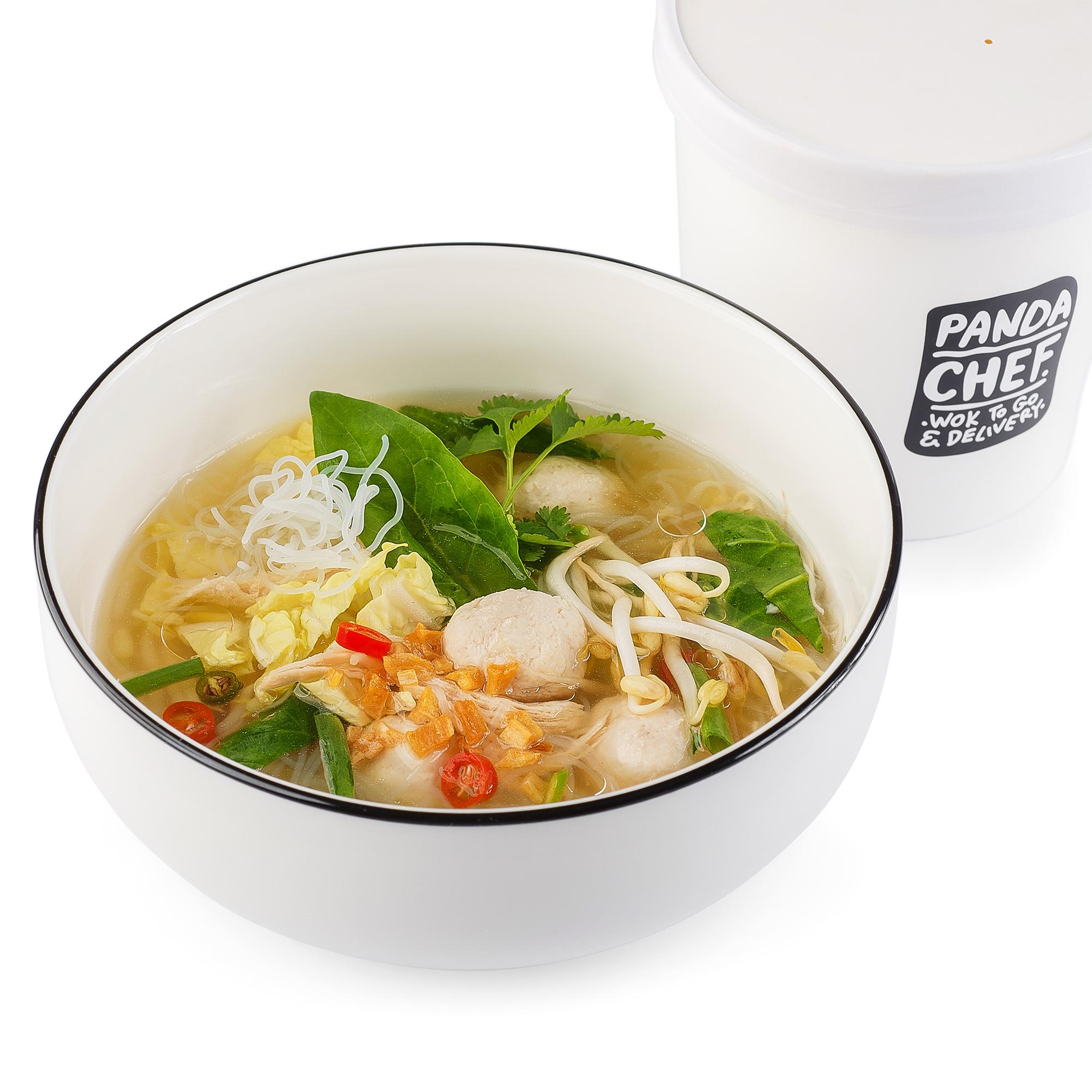 Тайский Нудл-суп