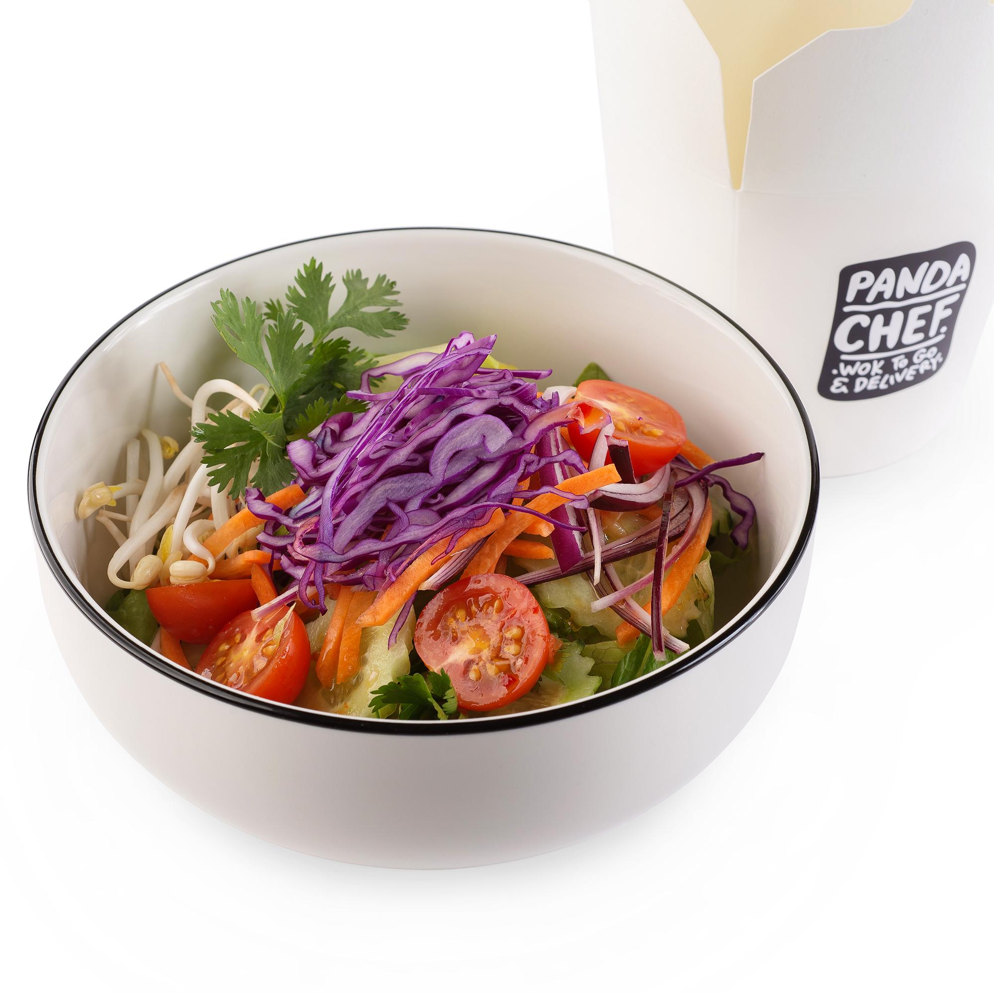 Тайский салат с овощами